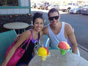 I love shave ice. And froyo.